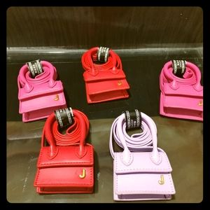 mini bags ins purple
